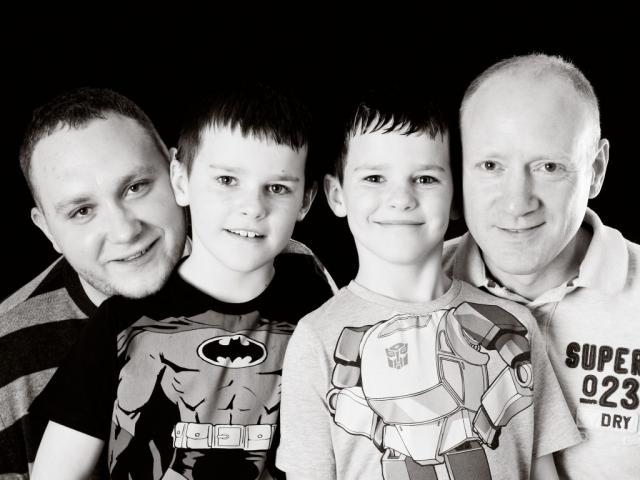 Jon, Zak, Dan and Scott