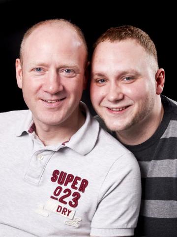 Scott and Jon