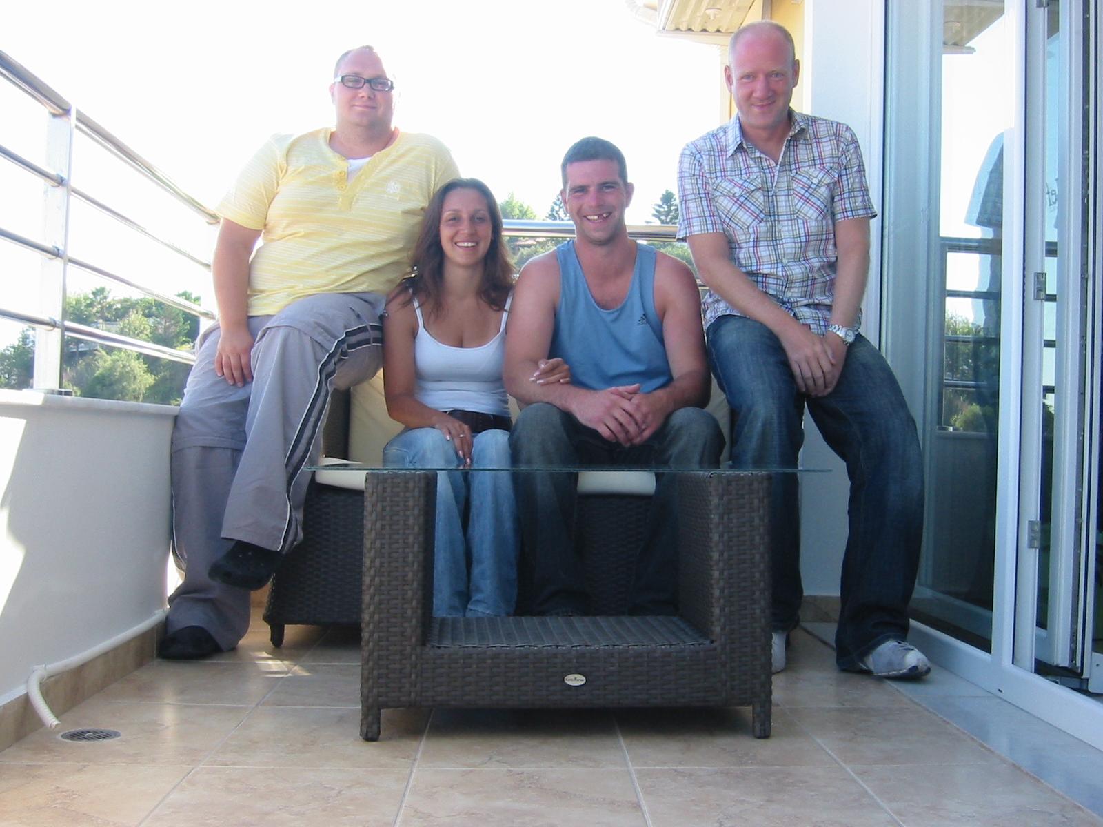 Jon, Vanessa, Adam and Scott