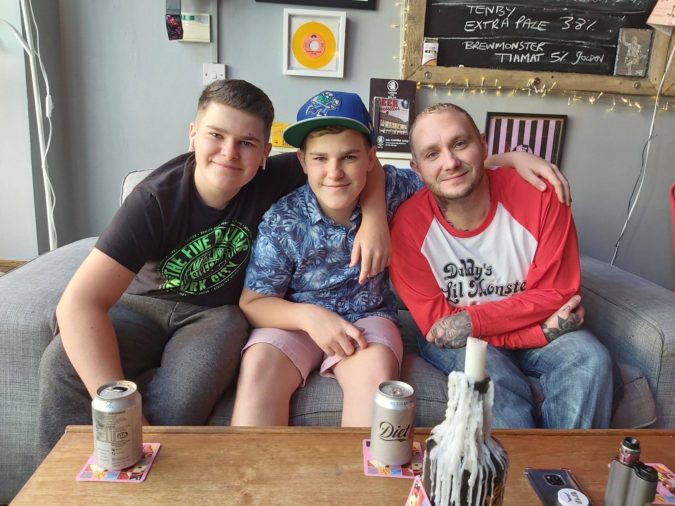 Zak, Dan and Jon