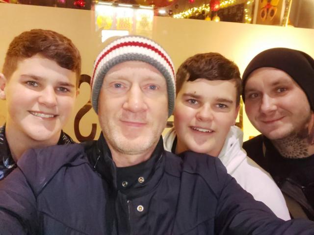 Dan, Scott, Zak and Jon