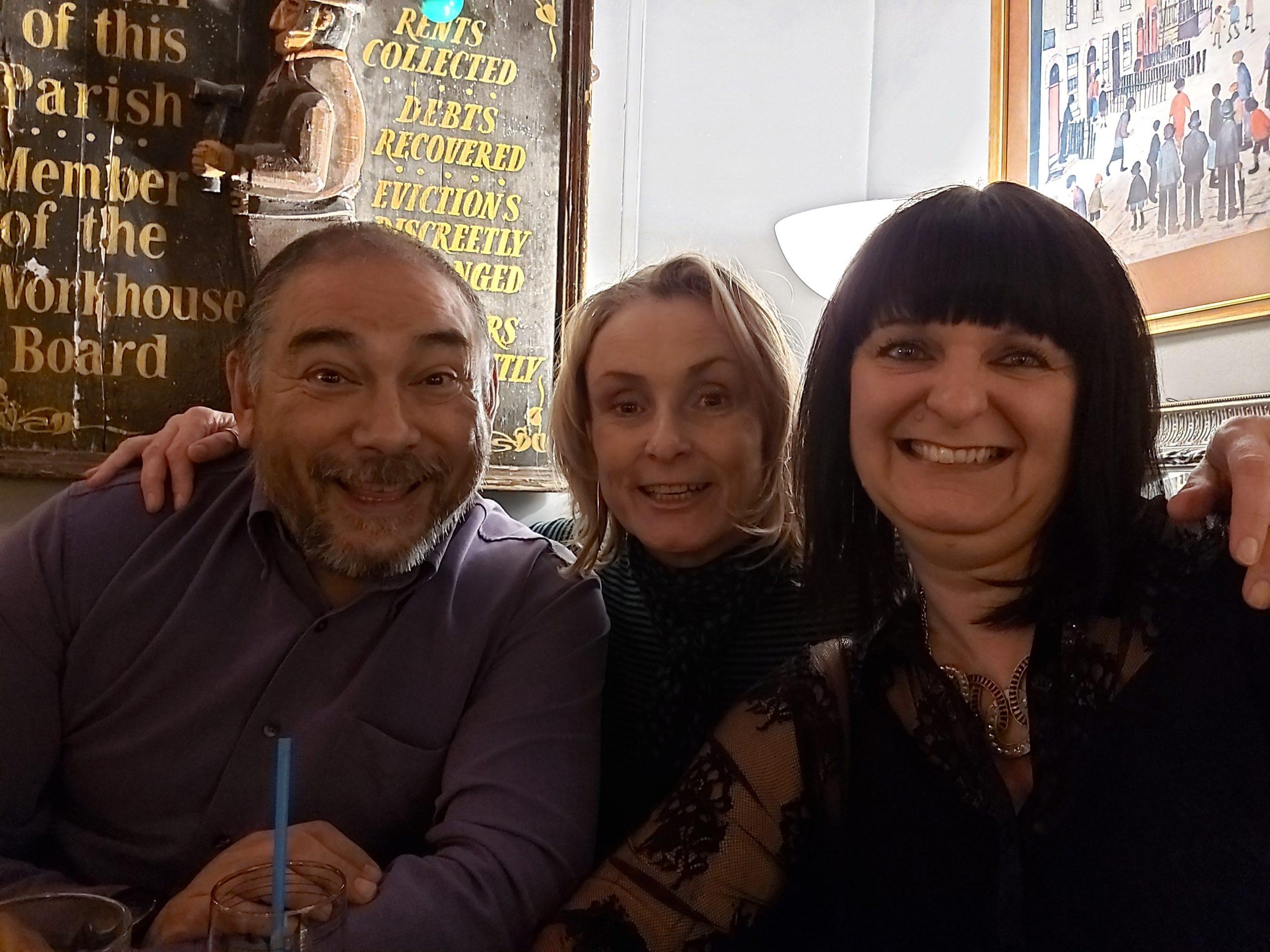 John, Karen and Deborah