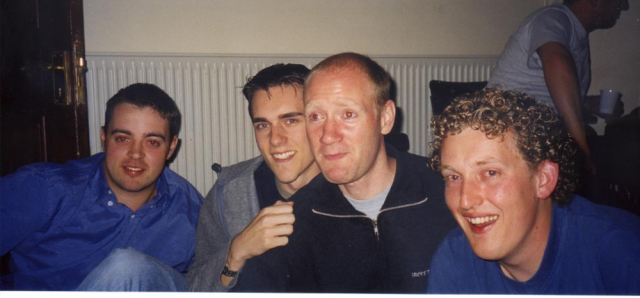 Andy, Ben, Scott and Nathan
