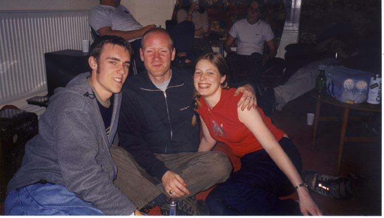 Ben, Scott and Kathryn