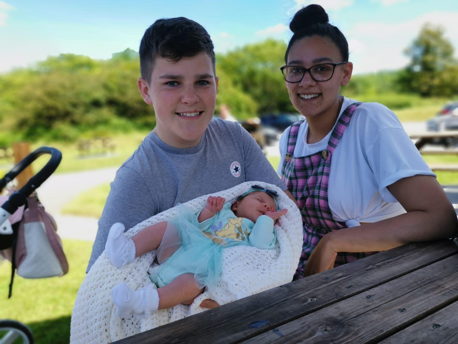 Dan, Jorgie and Sophie