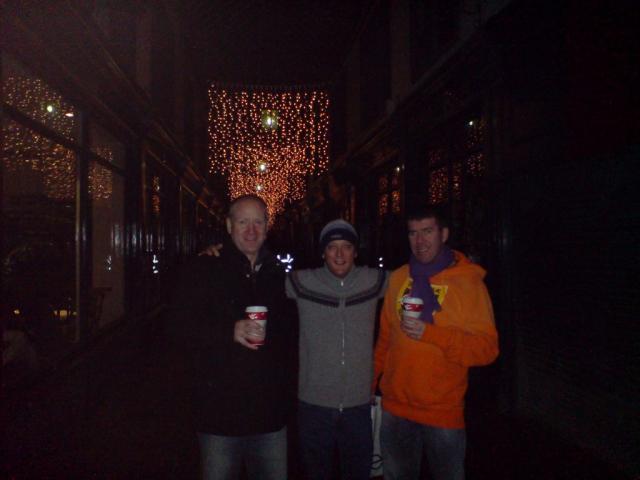 Scott, Paul and Mark