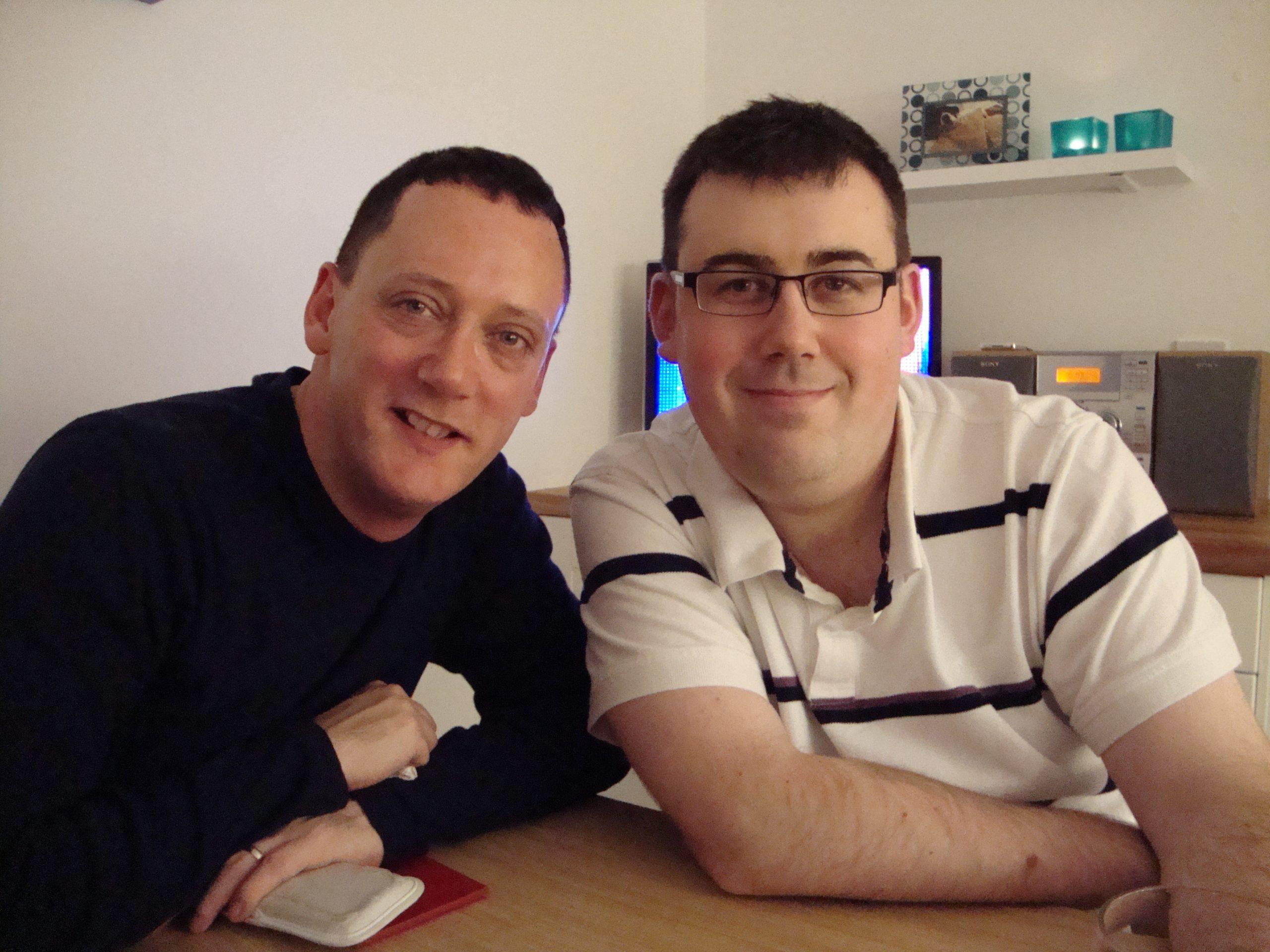 Paul and Gareth