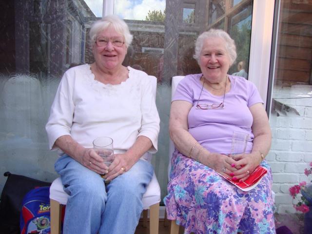 Carole and Yvonne
