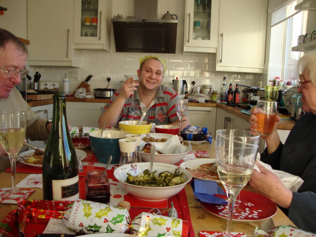 Mervyn, Jon and Carole