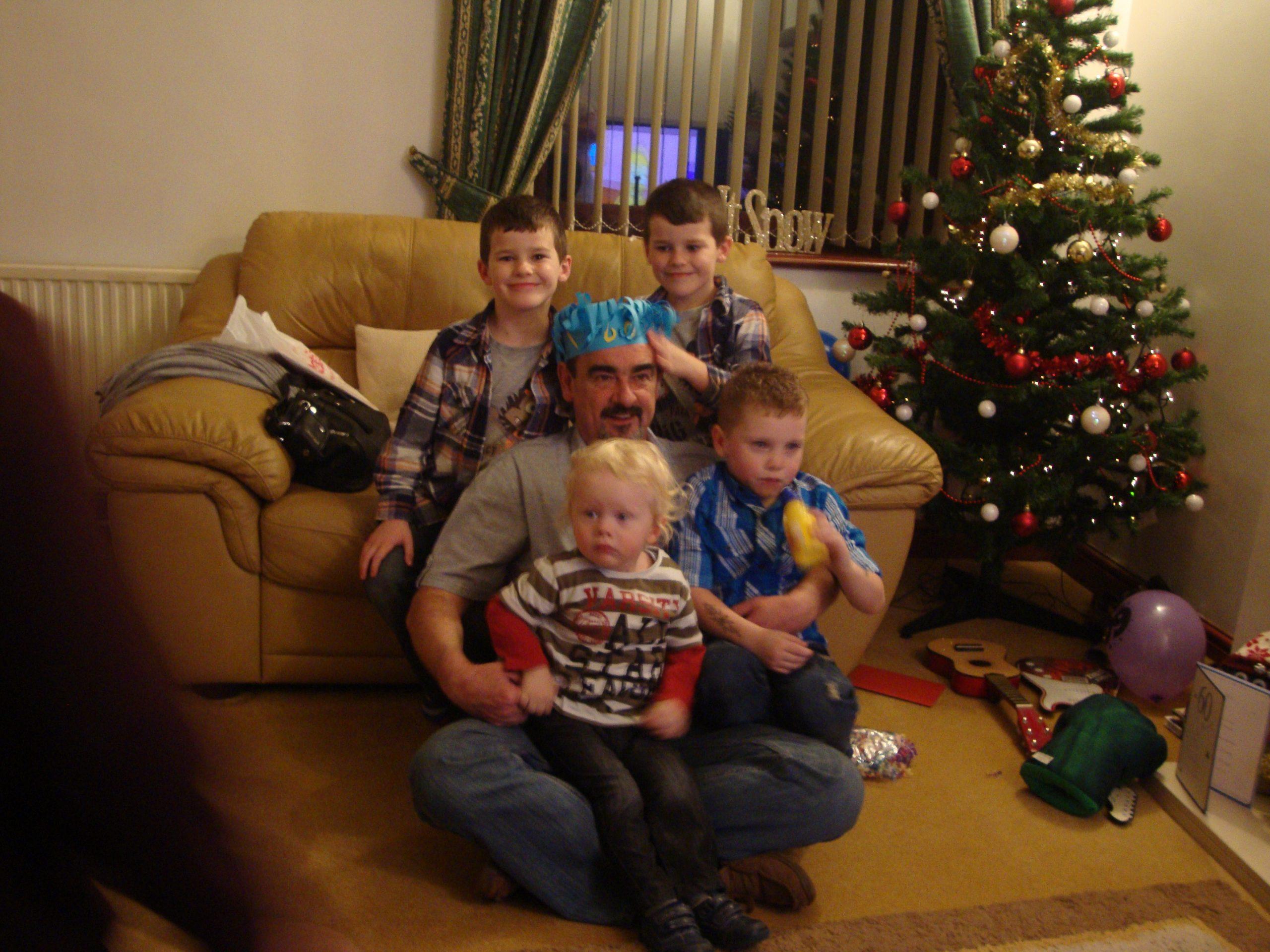 Dan, Chris, Jayden, Zak and Joel
