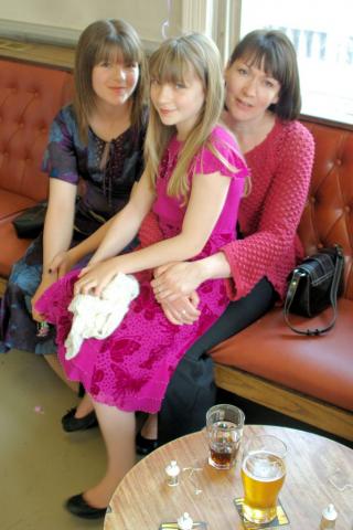 Phoebe, Eve and Liz