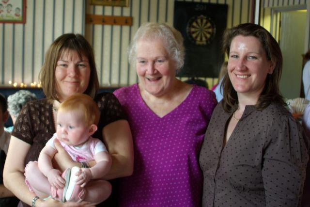 Susan, Branwen, Yvonne and Jane