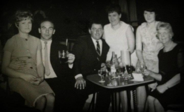 Pearl, John, Bernard, Yvonne, Carole and Ceinwen
