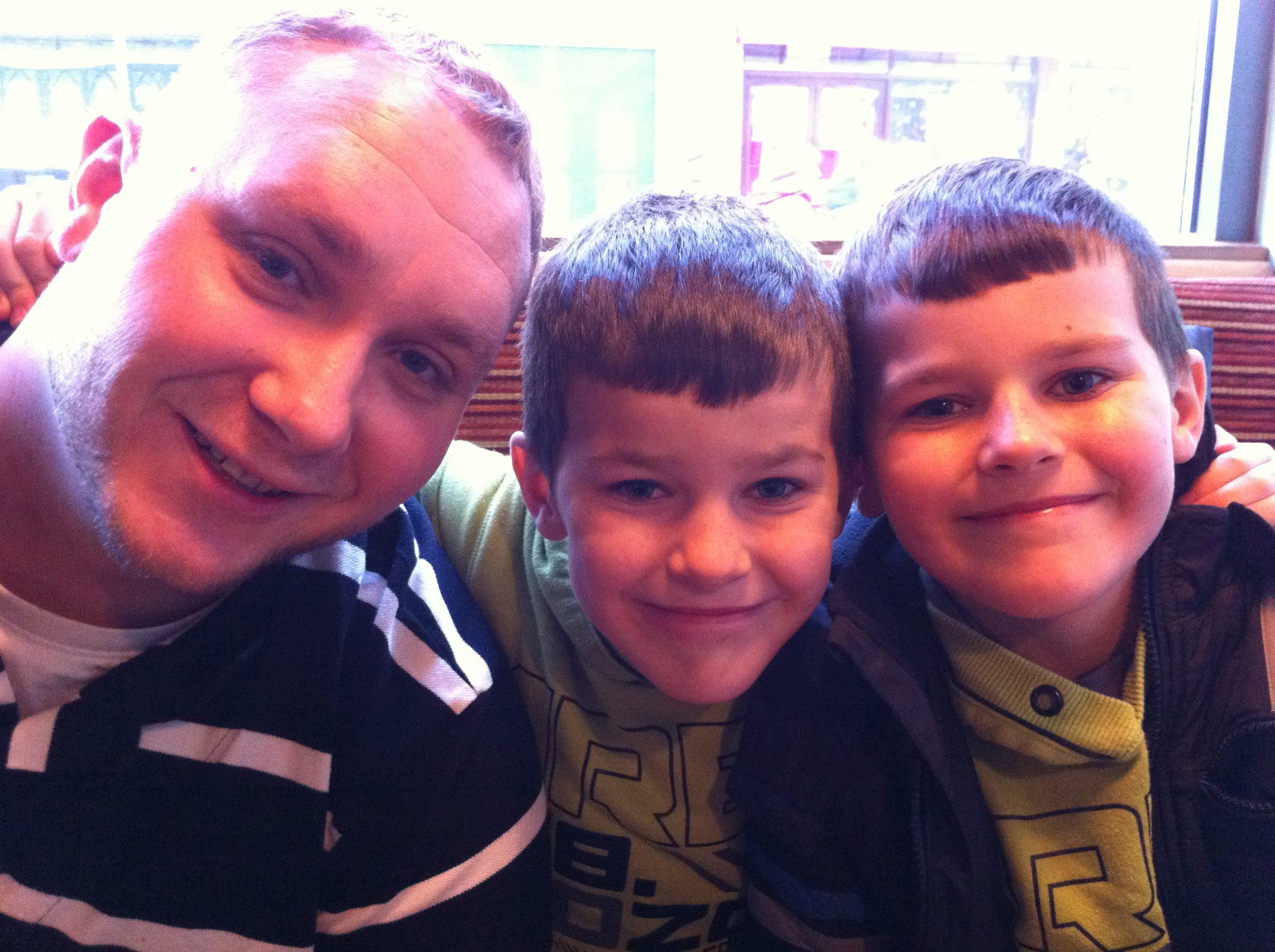Jon, Dan and Zak
