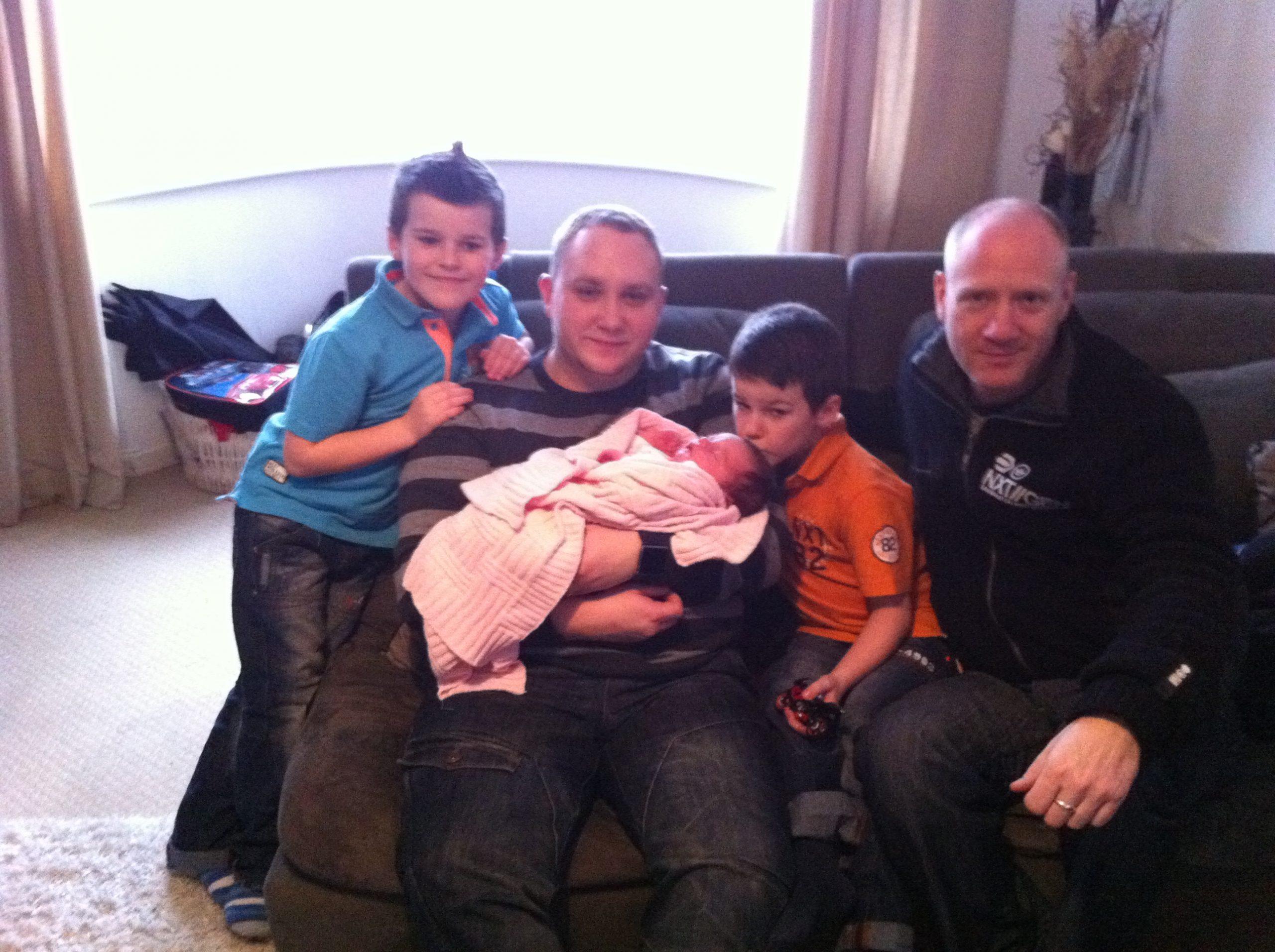 Zak, Jon, Bella, Dan and Scott