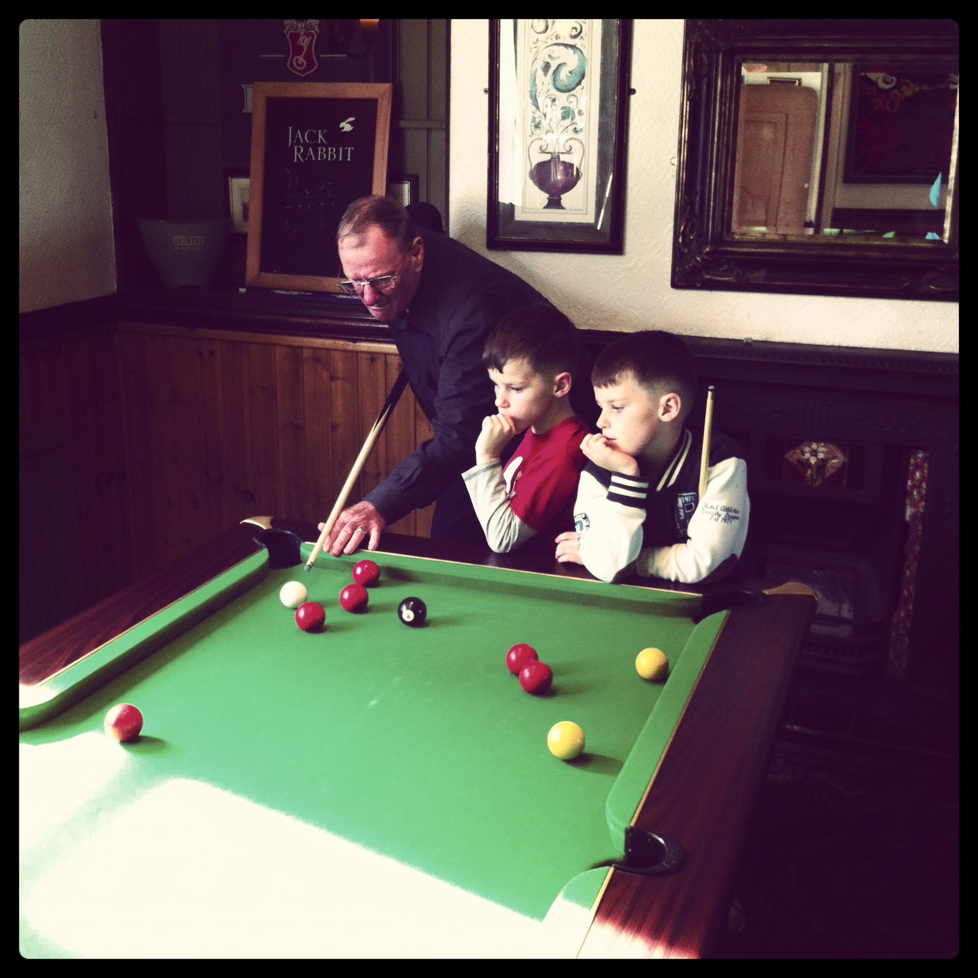 Mervyn, Dan and Zak