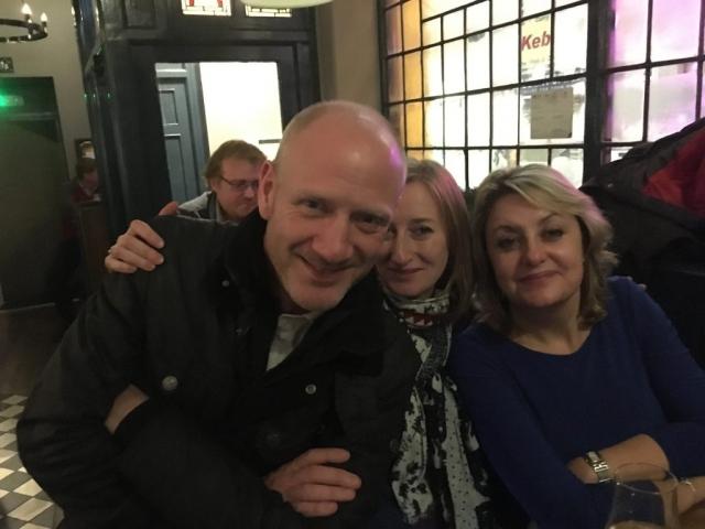 Scott, Clare and Nat