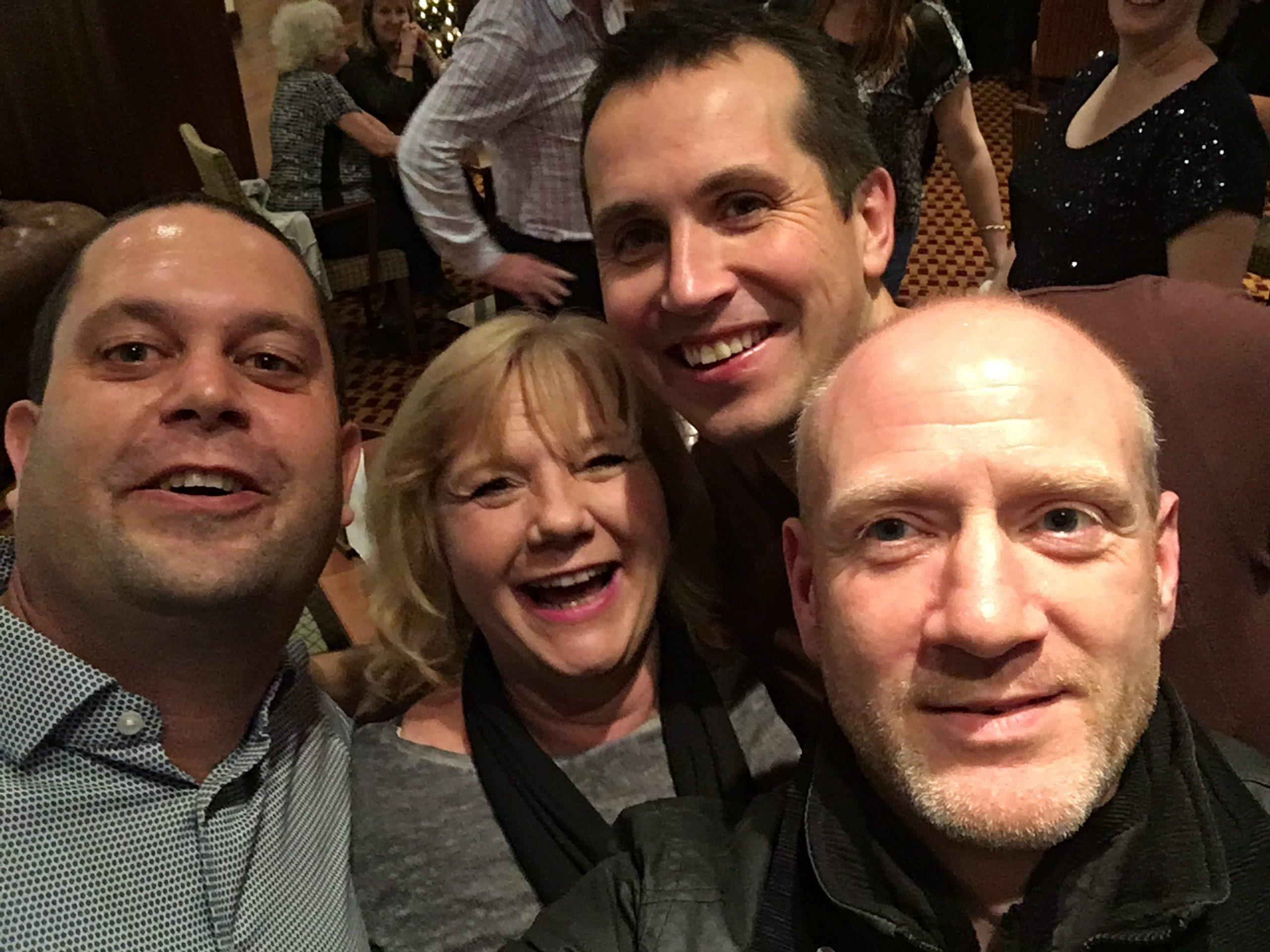 Myles, Sue, Neil and Scott