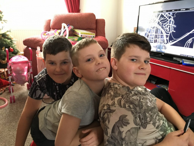 Dan, Joel and Zak