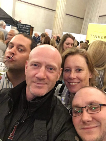 Myles, Scott, Elaine and Jon