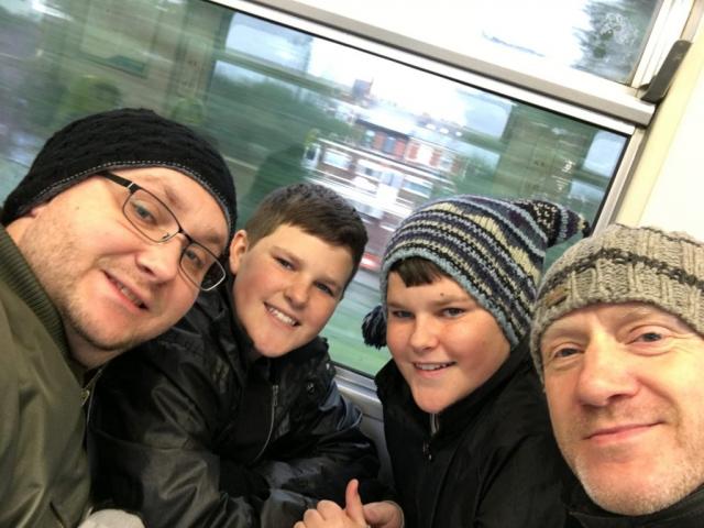 Jon, Dan, Zak and Scott