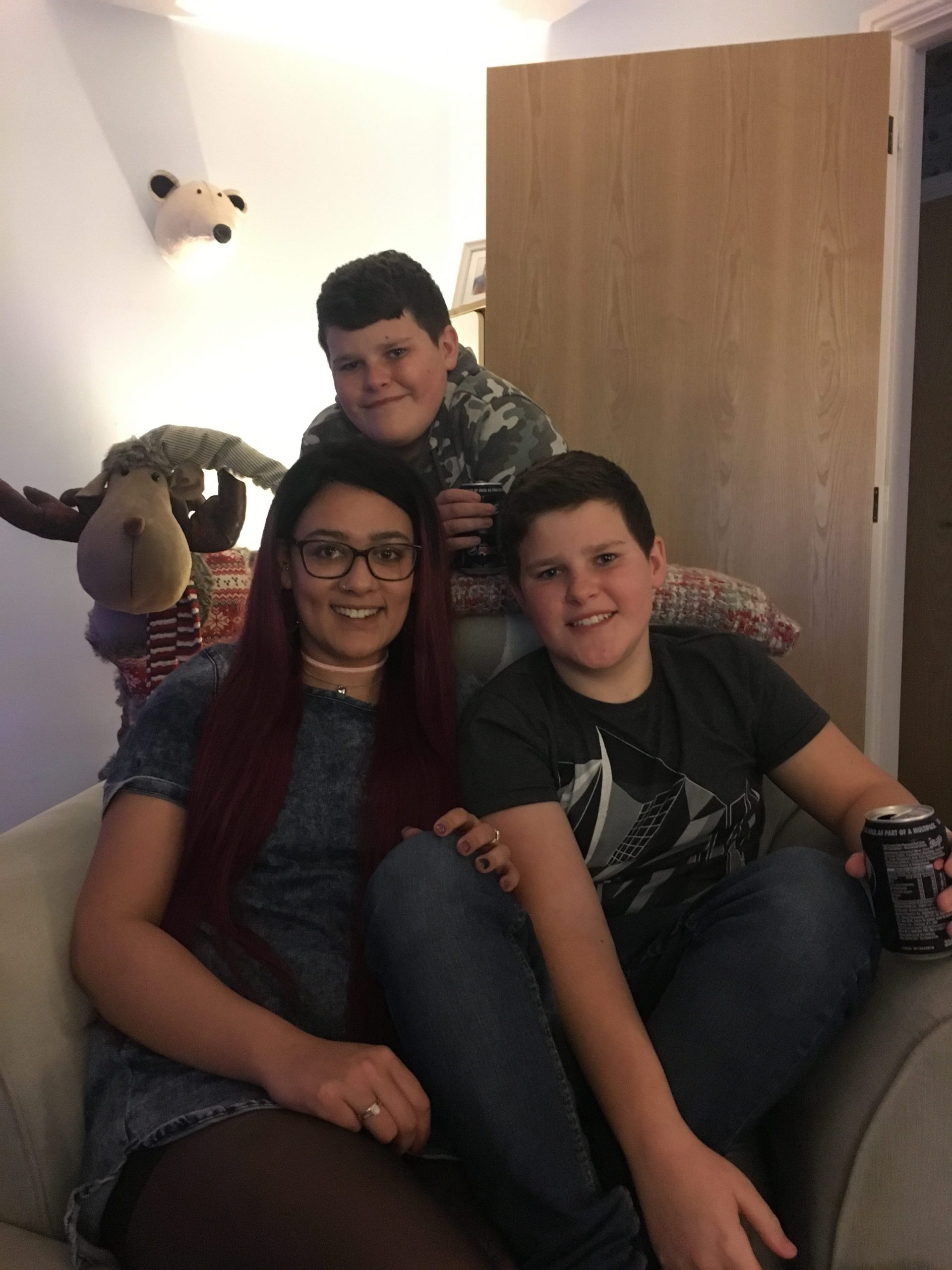 Sophie, Zak and Dan