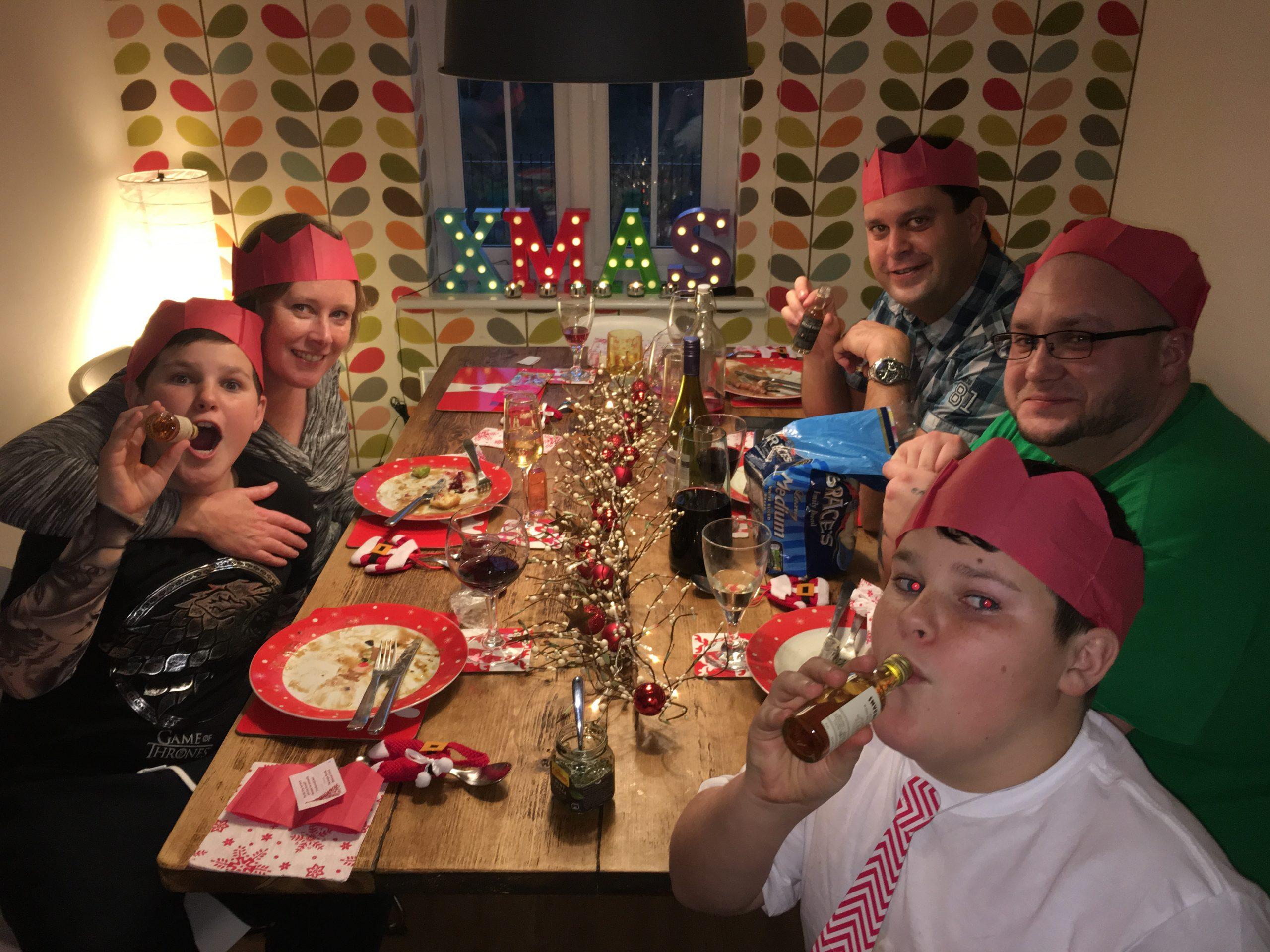 Dan, Elaine, Myles, Zak and Jon