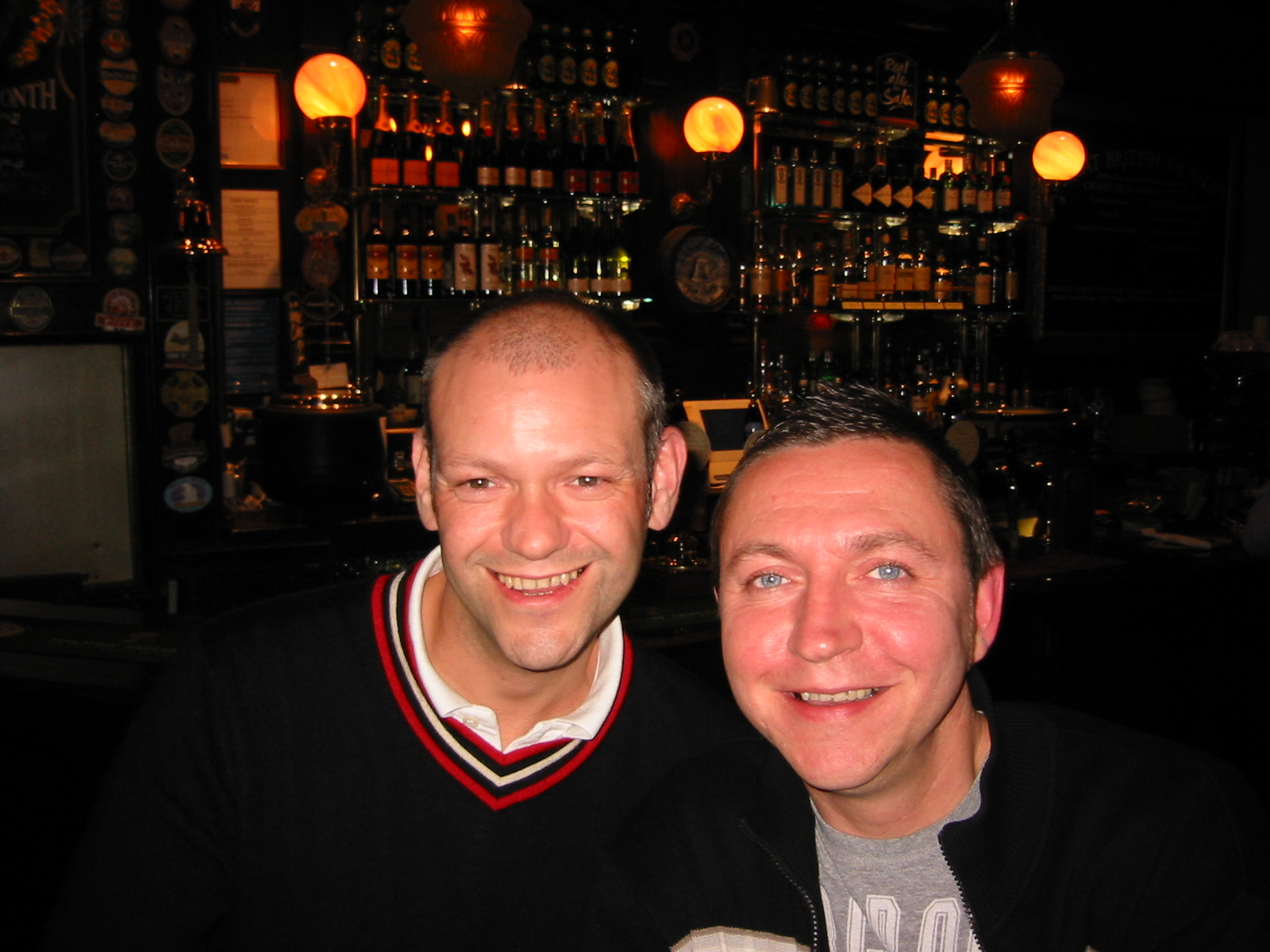 Paul and Geoff