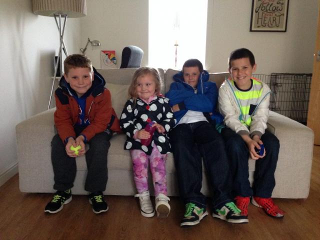 Joel, Bella, Zak and Dan