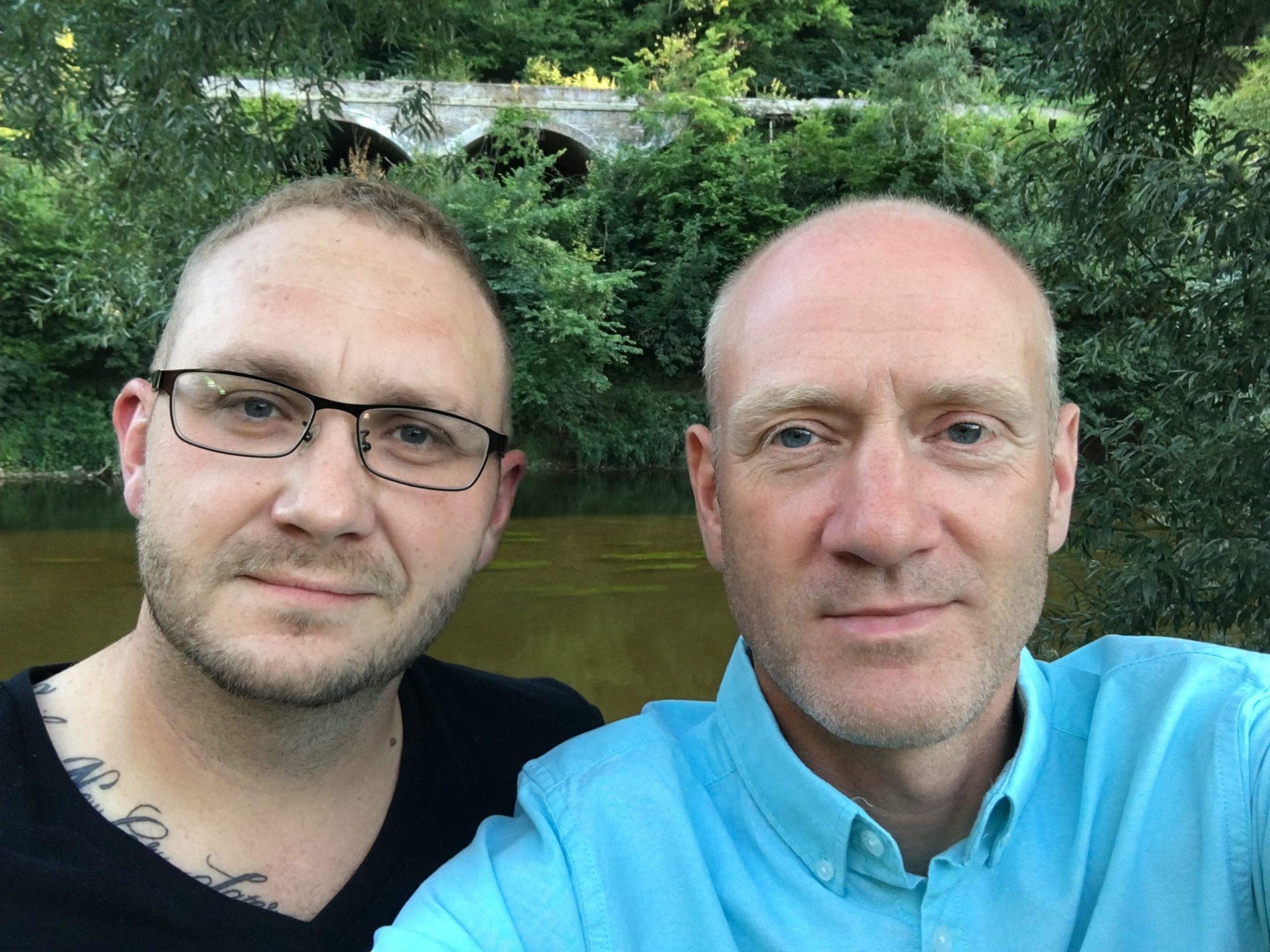 Jon and Scott