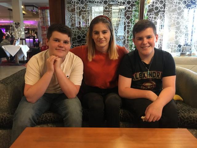 Zak, Alisha and Dan