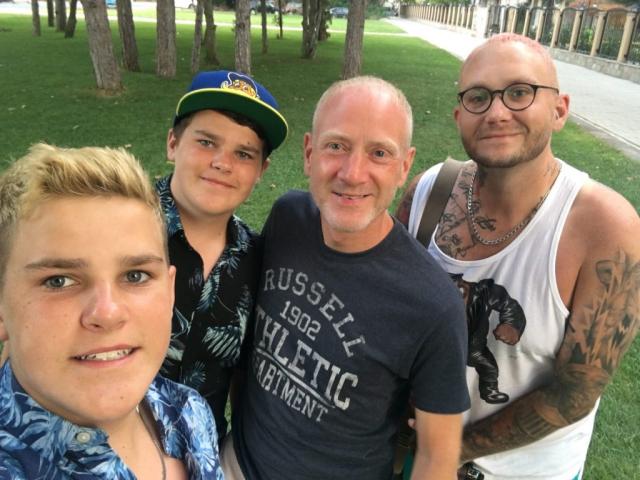 Dan, Zak, Scott and Jon