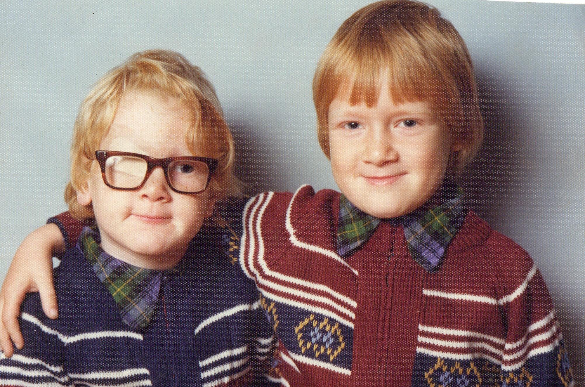 Jamie and Scott