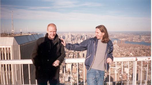 Scott and Geoff